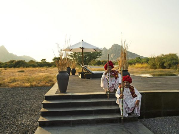 Sujan Jawai Leopard Camp Outside View