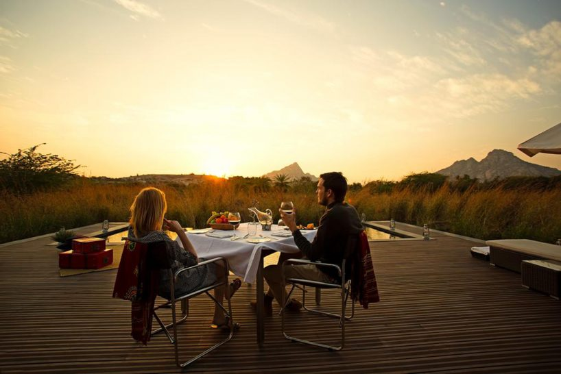 Sujan Jawai Leopard Camp Private Dining