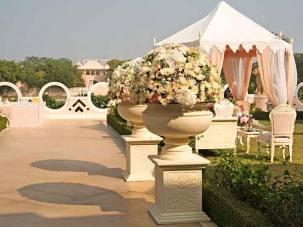 Sujan Rajmahal Palace Garden View
