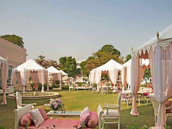 Sujan Rajmahal Palace Lobby Garden