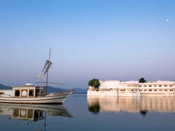 Taj Lake Palace Exterior