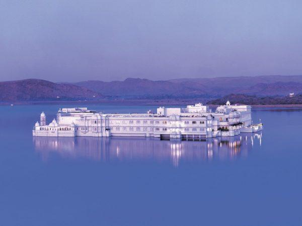 Taj Lake Palace Exterior View
