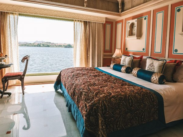 Taj Lake Palace Historical 1 Bedroom Suite Lake View