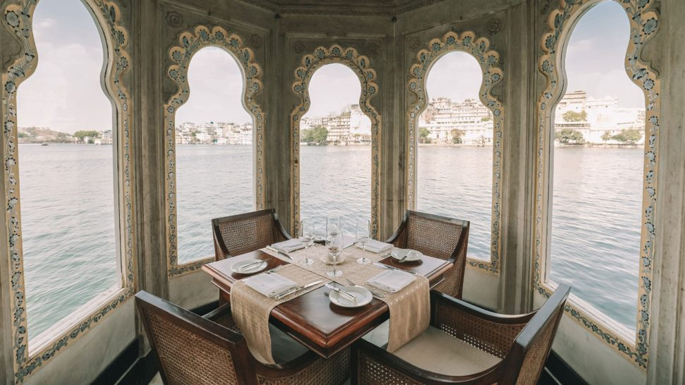 Taj Lake Palace Jharokha