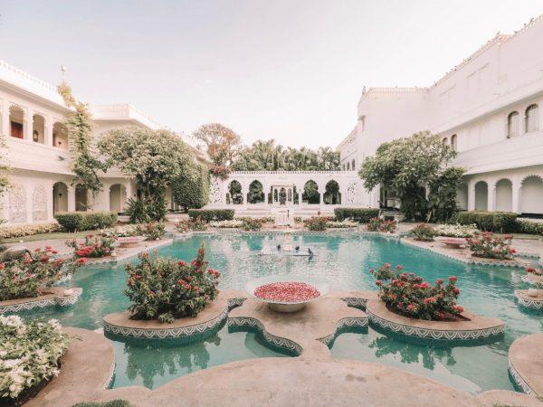 Taj Lake Palace Outdoor Pool