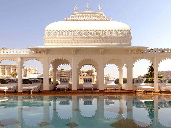 Taj Lake Palace Pool