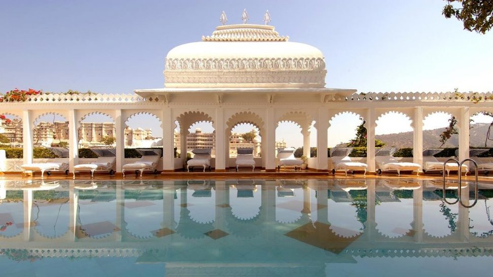 Taj Lake Palace Pool