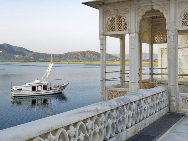 Taj Lake Palace River View