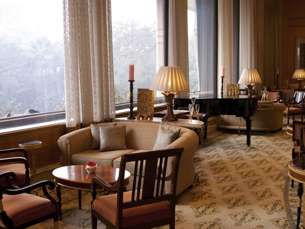 Dining Emperor Lounge at The Taj Mahal Hotel New Delhi