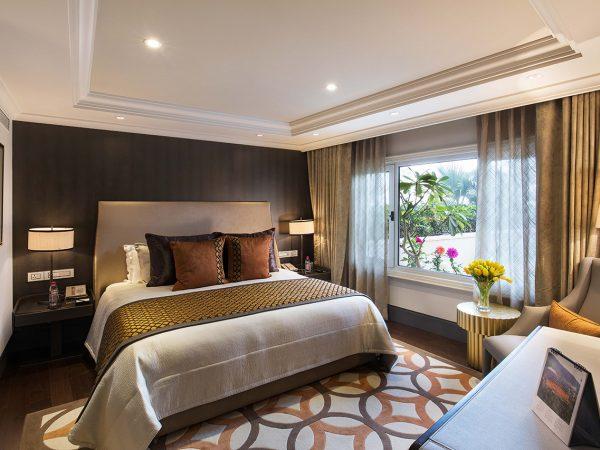 Taj Palace New Delhi Garden Luxury Suite Pool View