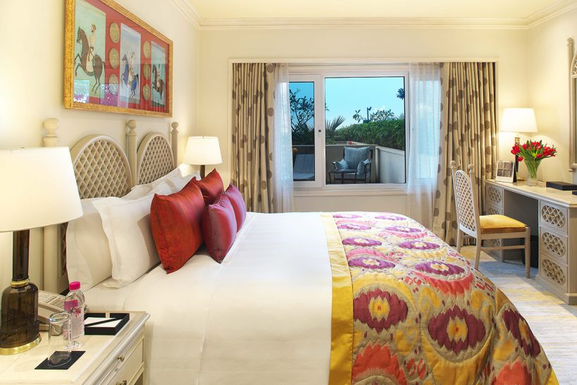 Taj Palace New Delhi Grand Luxury 2 Bed Suite Pool View