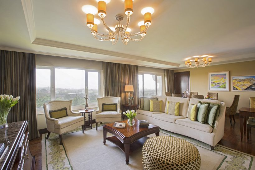 Taj Palace New Delhi Luxury Suite Pool View