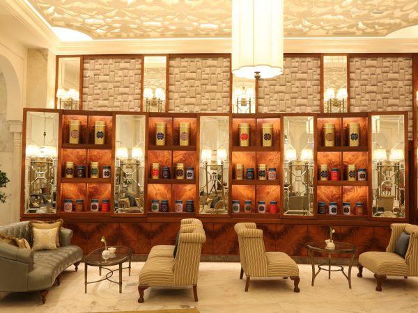 Taj Palace New Delhi Tea Lounge