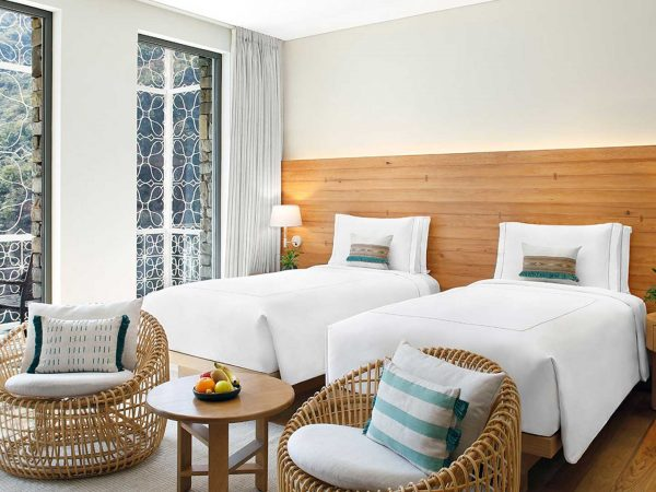Taj Rishikesh Resort & Spa Uttarakhand Deluxe rooms Twin bed