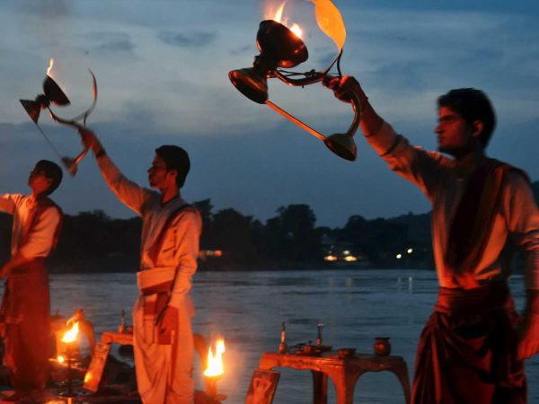 Taj Rishikesh Resort & Spa Uttarakhand Ganga Aarti
