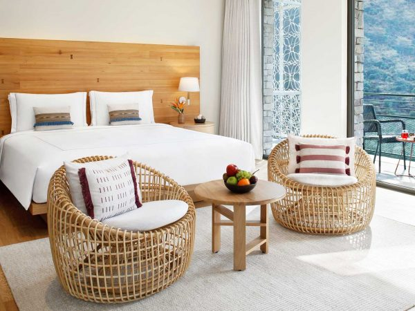 Taj Rishikesh Resort & Spa Uttarakhand Junior Suite King Bed