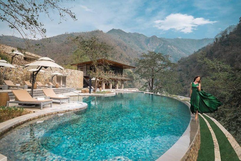 Taj Rishikesh Resort and Spa, Uttarakhand pool