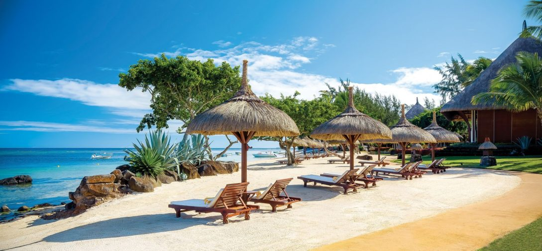 The Oberoi Beach Resort Mauritius Beach