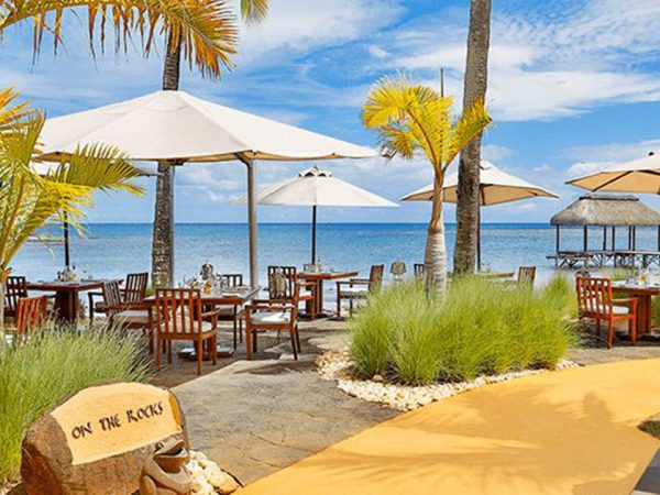 The Oberoi Beach Resort, Mauritius On the Rocks