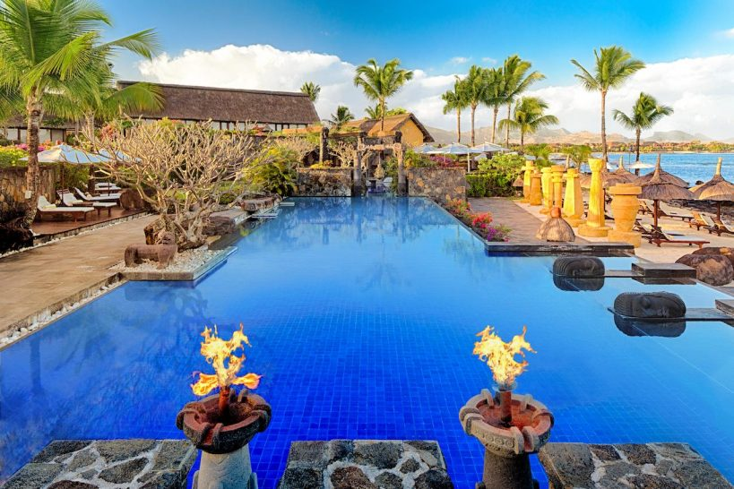 The Oberoi Beach Resort Mauritius Pool