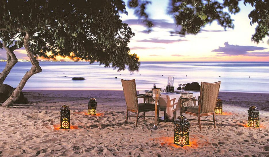 The Oberoi Beach Resort Mauritius Private Dining