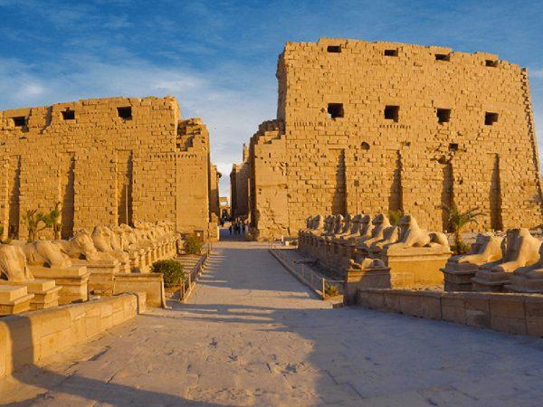 The Oberoi Luxury Nile Cruisers Karnak Temple