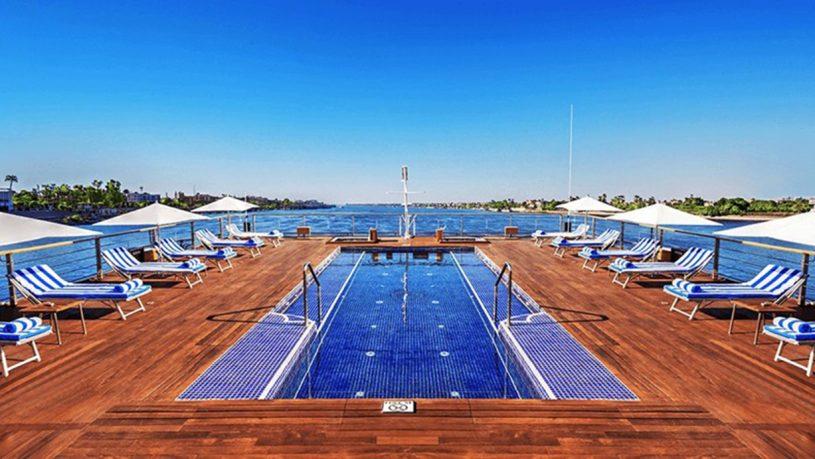 The Oberoi Luxury Nile Cruisers Pool