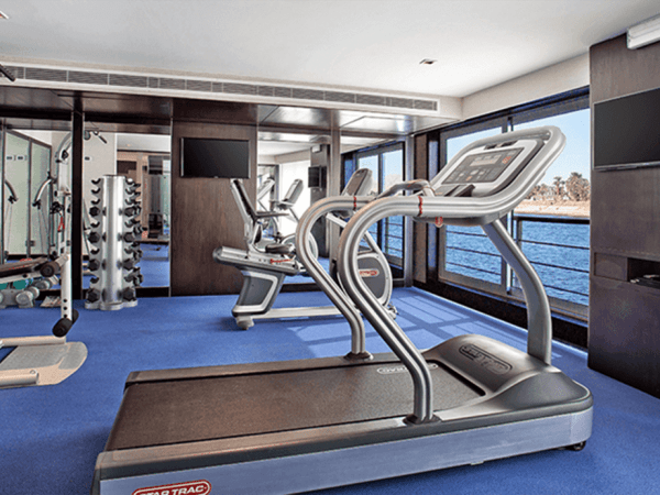 The Oberoi Philae Nile Cruise Gym