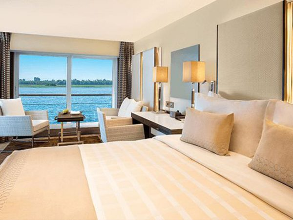 The Oberoi Philae Nile Cruise Luxury Cabins