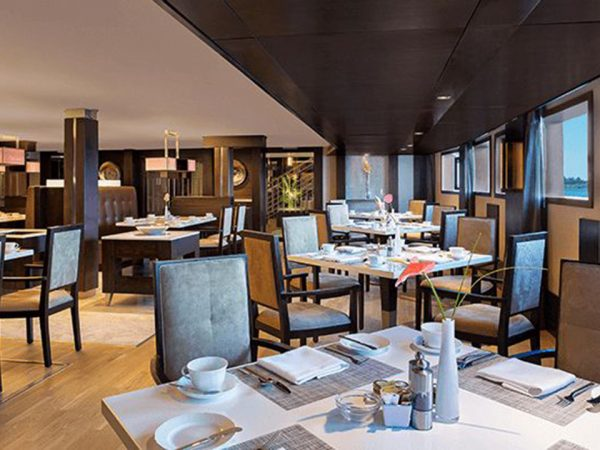 The Oberoi Philae Nile Cruise Main Restaurant