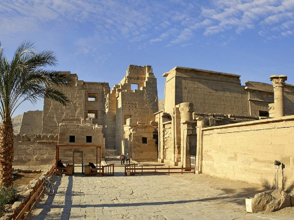 The Oberoi Philae Nile Cruise Medinet Habu