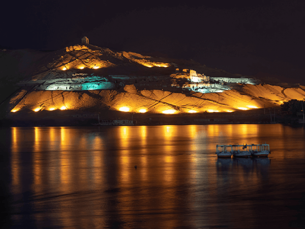 The Oberoi Philae Nile Cruise Night View