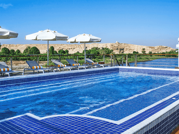 The Oberoi Philae Nile Cruise Pool