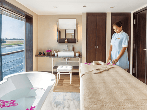 The Oberoi Philae Nile Cruise Spa