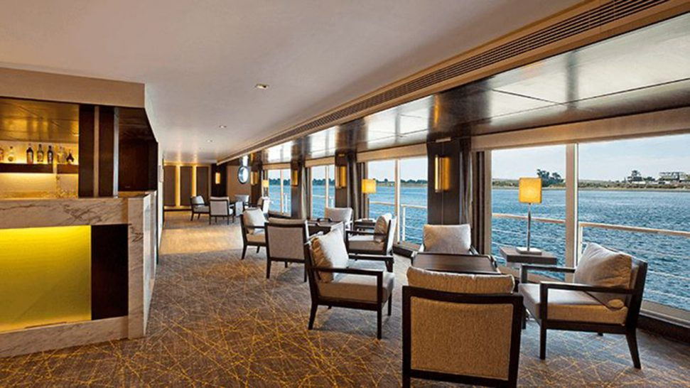 The Oberoi Philae Nile Cruise The Bar and Cigar Lounge