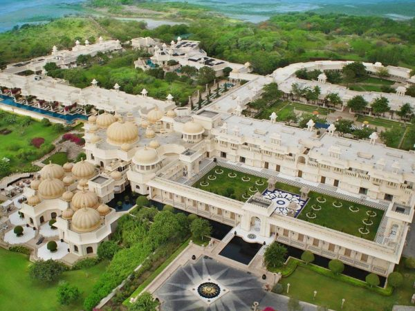 The Oberoi Udaivilas, Udaipur Areal View