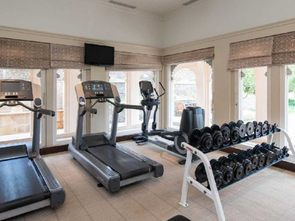The Oberoi Udaivilas, Udaipur Gym