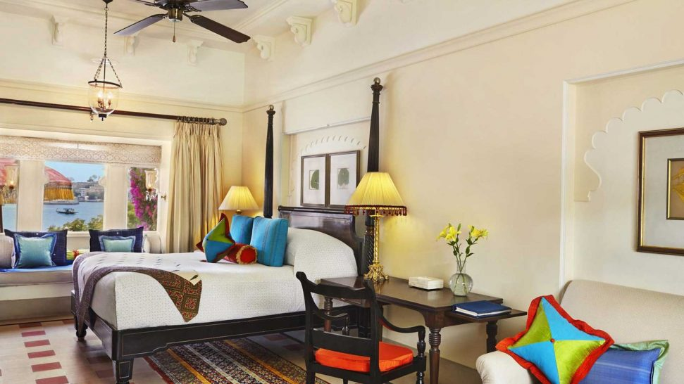 The Oberoi Udaivilas, Udaipur Premier Rooms with Pool View