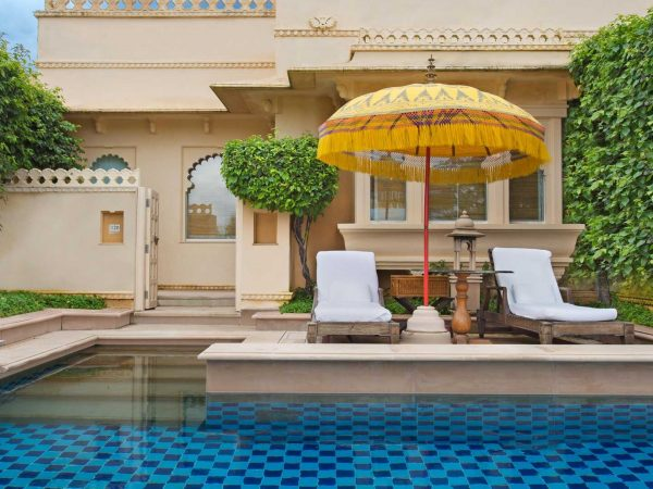 The Oberoi Udaivilas, Udaipur Premier Rooms with Semi Private Pool