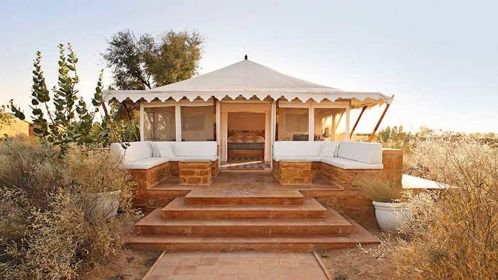The Serai Camp Relais and Ch?teaux Luxury Tent