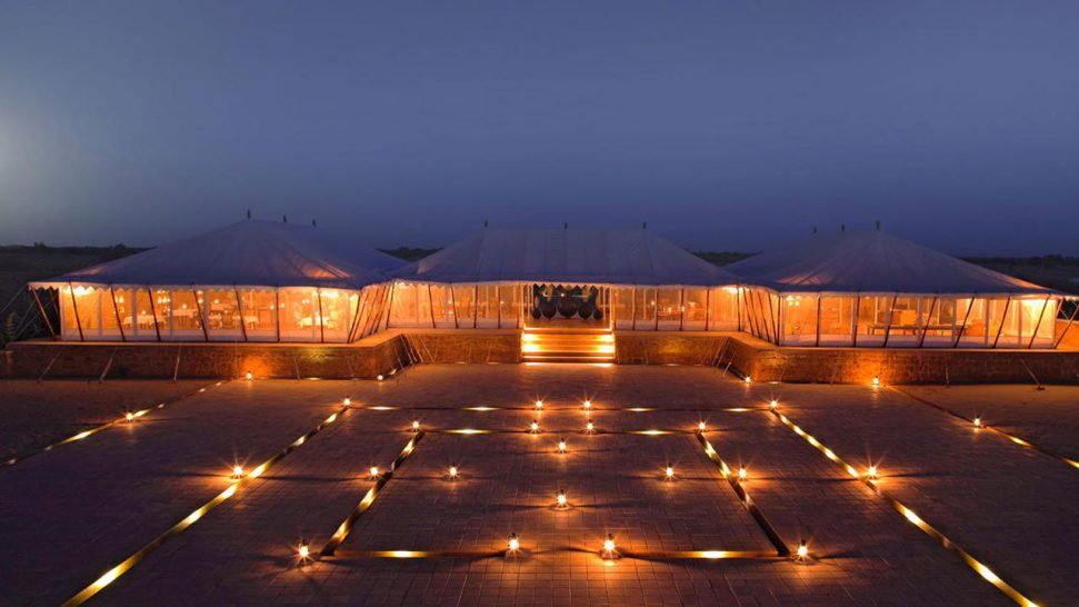 The Serai Camp Relais and Ch?teaux Night View
