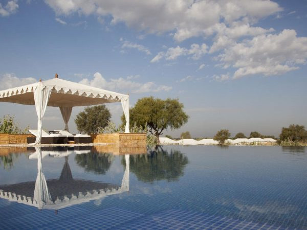 The Serai Camp Relais and Ch?teaux Outdoor Pool