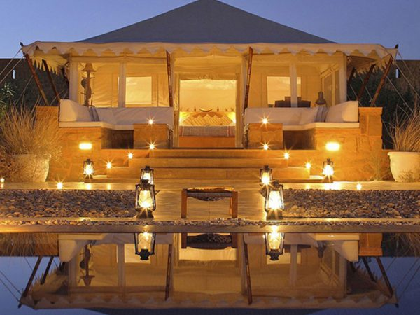 The Serai Camp Relais and Ch?teaux The Royal Tented Suite