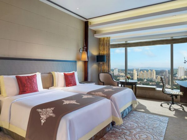 The St. Regis Mumbai Premier Guest room, 2 Twin Single Bed(s)