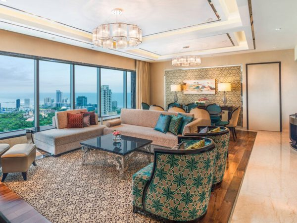 The St. Regis Mumbai The Metropolitan Suite, 1 King, Sea view