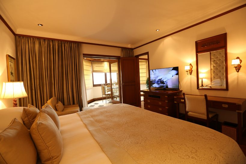 The Taj Mahal Hotel New Delhi Executive Suite 1 Bedroom Pool View King Bed
