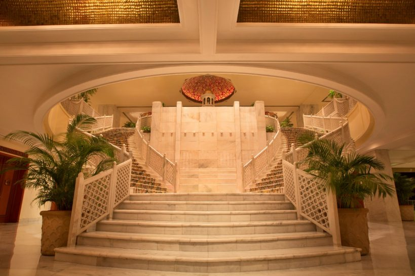 The Taj Mahal Hotel New Delhi Interior View