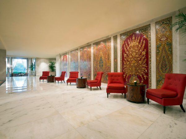The Taj Mahal Hotel New Delhi Lobby View