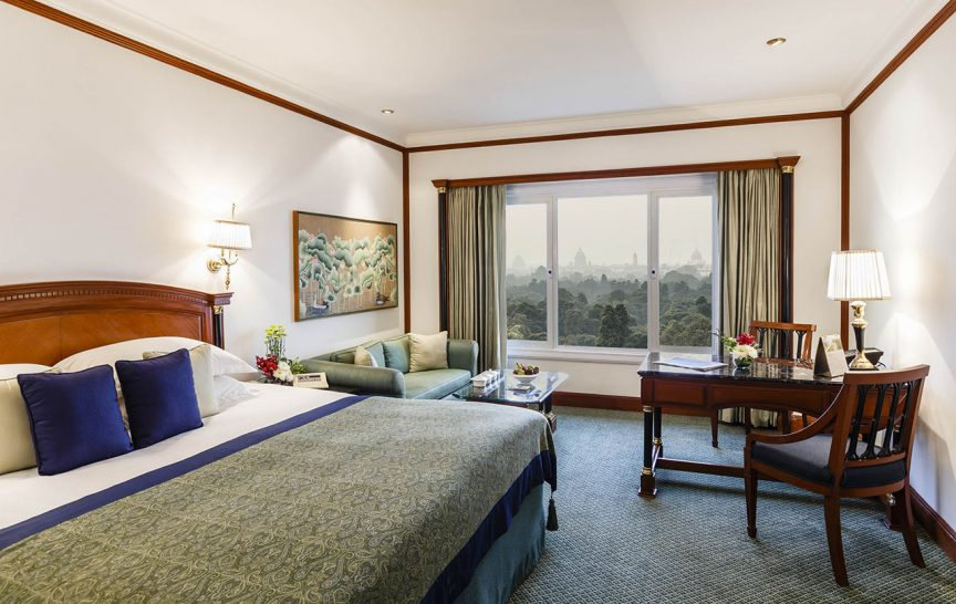 The Taj Mahal Hotel New Delhi Taj Club Room City View