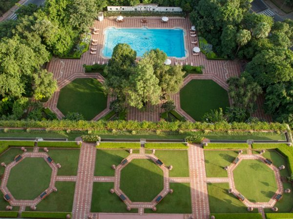 The Taj Mahal Hotel New Delhi Top View